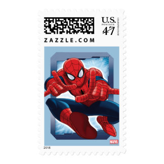 Spider-Man Character Card Postage Stamp