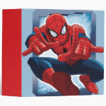 Spider-Man Character Card Vinyl Binder