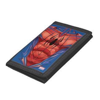 Spider-Man | Chest Graphic Trifold Wallet