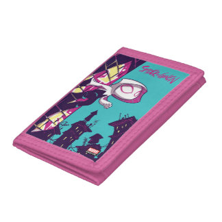 Spider-Man | Chibi Spider-Gwen On The Lookout Trifold Wallet