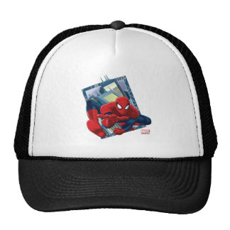 Spider-Man City Character Graphic Trucker Hat