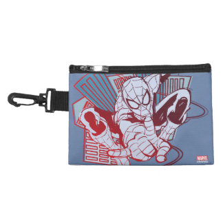 Spider-Man & City Sketch Accessory Bags