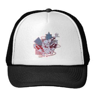 Spider-Man & City Sketch Trucker Hat