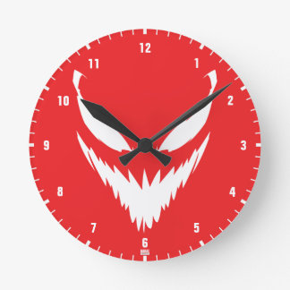 Spider-Man Classics   Face of Carnage Round Clock
