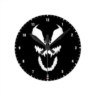Spider-Man Classics   Face of Venom Round Clock