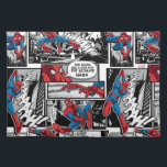 """Spider-Man Comic Panel Pattern 