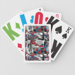Spider-Man Comic Panel Pattern Bicycle Playing Cards