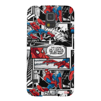 Spider-Man Comic Panel Pattern Case For Galaxy S5