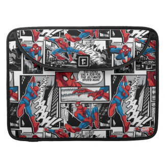 Spider-Man Comic Panel Pattern MacBook Pro Sleeve
