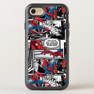 Spider-Man Comic Panel Pattern OtterBox Symmetry iPhone 8/7 Case