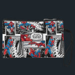 "Spider-Man Comic Panel Pattern Wristlet<br><div class=""desc"">Spider-Man 