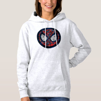 Spider-Man Comic Patterned Icon Hoodie