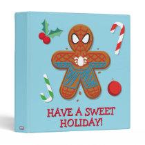 Spider-Man Cookie 3 Ring Binder