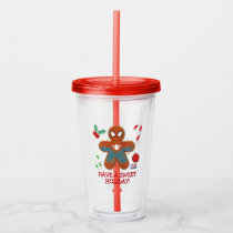 Spider-Man Cookie Acrylic Tumbler