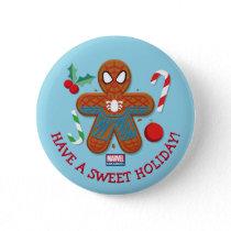 Spider-Man Cookie Button