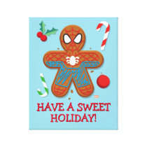 Spider-Man Cookie Canvas Print
