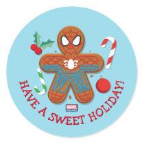 Spider-Man Cookie Classic Round Sticker
