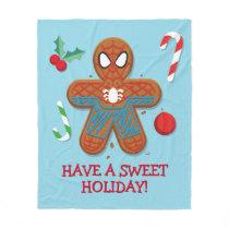 Spider-Man Cookie Fleece Blanket