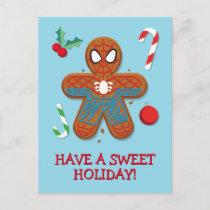 Spider-Man Cookie Postcard