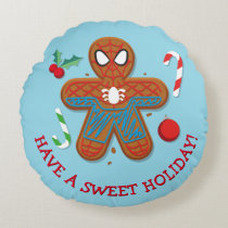 Spider-Man Cookie Round Pillow