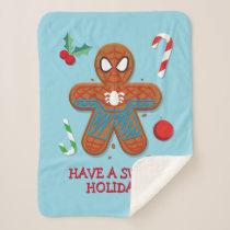 Spider-Man Cookie Sherpa Blanket