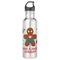 Spider-Man Cookie Stainless Steel Water Bottle