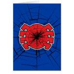 Spider-Man | Cracked Spider Symbol Card