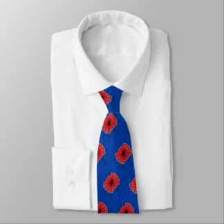 Spider-Man | Cracked Spider Symbol Neck Tie