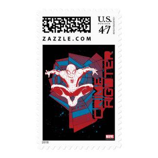 Spider-Man Crime Fighter Postage