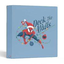 """Spider-Man """"Deck The Walls"""" 3 Ring Binder"""