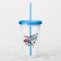 "Spider-Man ""Deck The Walls"" Acrylic Tumbler"