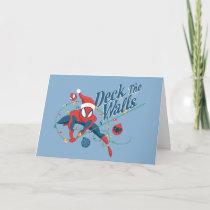 "Spider-Man ""Deck The Walls"" Card"