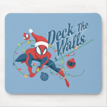 "Spider-Man ""Deck The Walls"" Mouse Pad"
