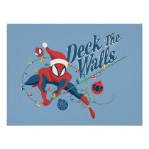 "Spider-Man ""Deck The Walls"" Poster"