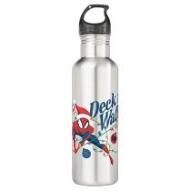 "Spider-Man ""Deck The Walls"" Stainless Steel Water Bottle"