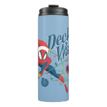 "Spider-Man ""Deck The Walls"" Thermal Tumbler"