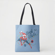 "Spider-Man ""Deck The Walls"" Tote Bag"