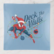 "Spider-Man ""Deck The Walls"" Trinket Tray"