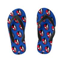 Spider-Man | Dual Spider-Man & Venom Face Kid's Flip Flops