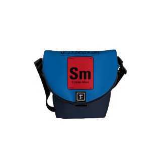 Spider-Man Element Scientific Formula Courier Bag
