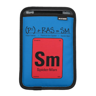 Spider-Man Element Scientific Formula Sleeve For iPad Mini