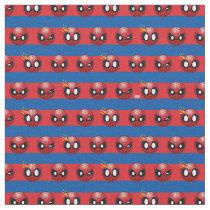 Spider-Man Emoji Stripe Pattern Fabric