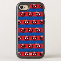 Spider-Man Emoji Stripe Pattern OtterBox Symmetry iPhone SE/8/7 Case