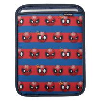 Spider-Man Emoji Stripe Pattern Sleeve For iPads