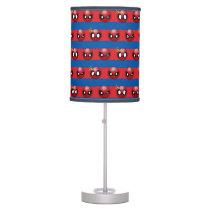 Spider-Man Emoji Stripe Pattern Table Lamp