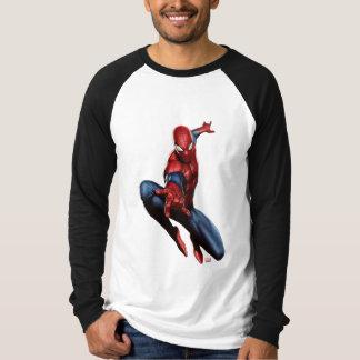 Spider-Man en rascacielos Playera