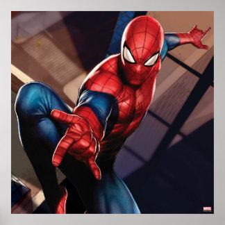 Spider-Man en rascacielos Póster