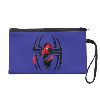Spider-Man en salpicadura formada araña de la