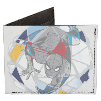 Spider-Man en Web del caleidoscopio Billeteras Tyvek®