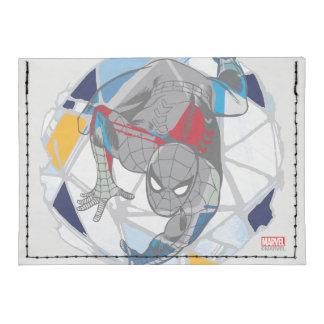 Spider-Man en Web del caleidoscopio Tarjeteros Tyvek®